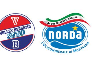 Volley Bergamo rinnova la partnership con Norda